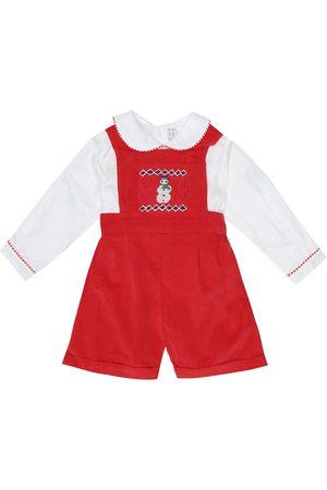 Rachel Riley Baby cotton playsuit