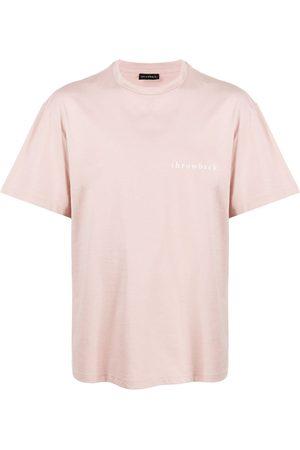 Throwback. Men T-shirts - Logo print T-shirt