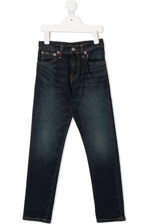 Ralph Lauren Mid-rise slim-fit jeans