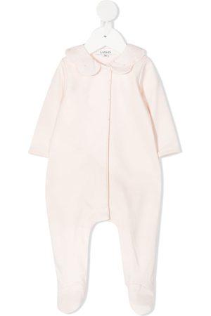 Lanvin Scalloped collar cotton pajama