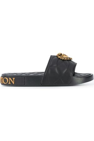 Dolce & Gabbana Devotion quilted slides