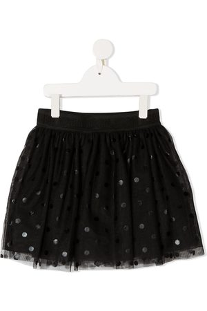 Msgm Girls Shorts - Polka-dot short tutu