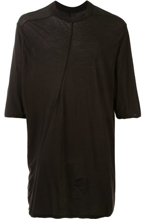 Rick Owens Displaced-seam longline T-shirt