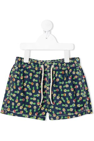 MC2 SAINT BARTH Pineapple print swim shorts