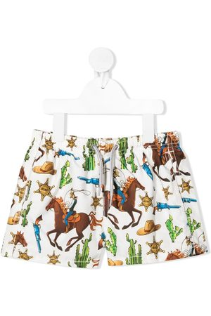 MC2 SAINT BARTH Western print swim shorts