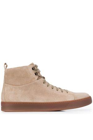 HENDERSON BARACCO High top zipped sneakers - Neutrals