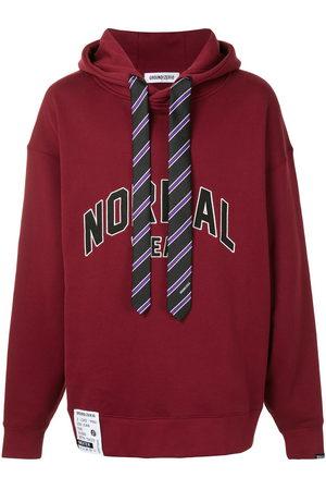 Ground Zero Tie detail hoodie