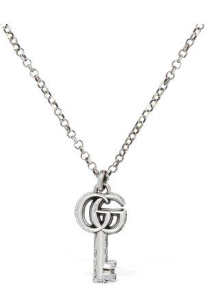 Gucci Women Necklaces - 50cm Gg Marmont Key Charm Necklace