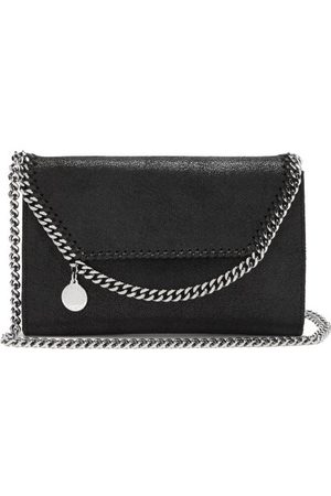 Stella McCartney Women Clutches - New Falabella Mini Faux-suede Shoulder Bag - Womens