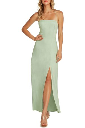 Willow Women Maxi Dresses - Women's Santorini Low Back Maxi Dress