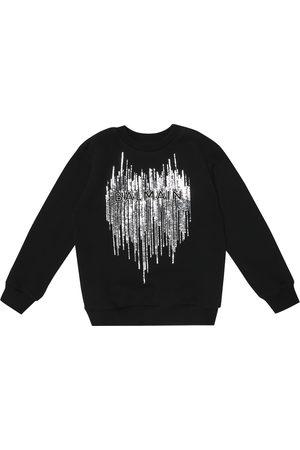 Balmain Sequined cotton sweatshirt