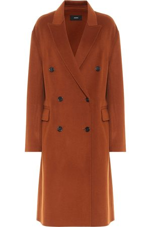 Joseph Women Coats - Carles double-faced wool and cashmere coat