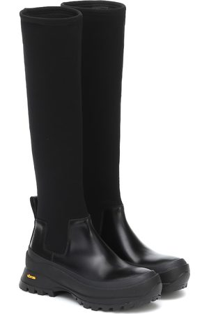 Jil Sander Platform knee-high boots