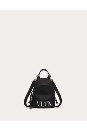 VALENTINO GARAVANI Men Rucksacks - Vltn Mini Nylon Backpack Man / 51% Polyester 49% Polyamide OneSize