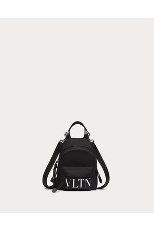 VALENTINO GARAVANI Men Rucksacks - Vltn Mini Nylon Backpack Man / Polyamide 100% OneSize