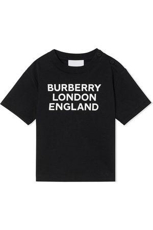 Burberry T-shirts - Logo print T-shirt