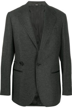 Gianfranco Ferré Men Blazers - 1990s notched lapels blazer - Grey