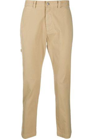 Diesel Cropped slim-fit trousers - Neutrals