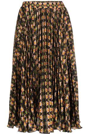 La DoubleJ Soleil multi-print skirt