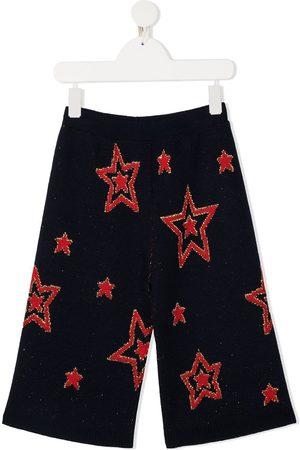Gucci Star intarsia knit trousers