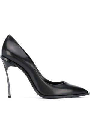 Casadei Pointed-toe leather pumps