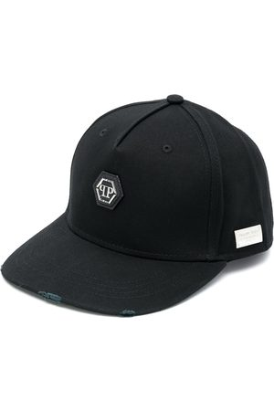 Philipp Plein Skull-embroidered baseball cap