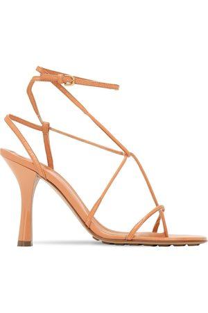 Bottega Veneta 90mm Bv Line Leather Thong Sandals