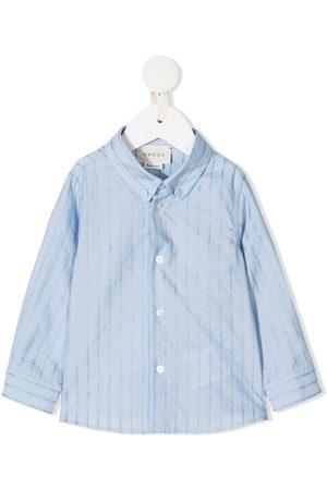 Gucci Logo fil coupé shirt