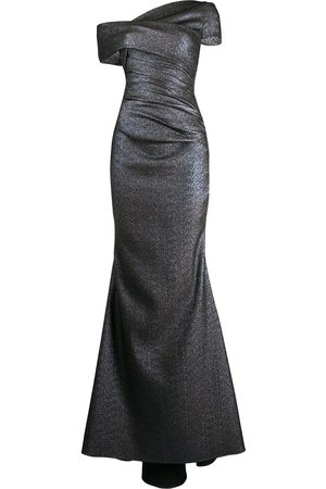 TALBOT RUNHOF Asymmetric gown - Grey
