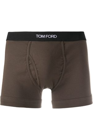 Tom Ford Men Boxer Shorts - Logo waistband boxers