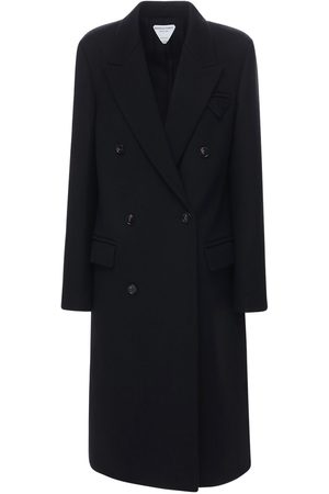 Bottega Veneta Compact Wool Double Breast Coat