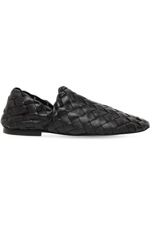 Bottega Veneta Intrecciato Leather Loafers