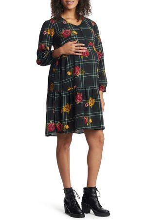 Everly Grey Women's Tara Long Sleeve Maternity/nursing Dress