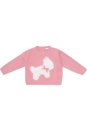 Il gufo Baby wool sweater