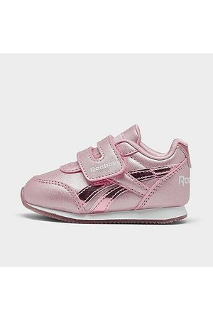 Reebok Girls' Toddler Royal Classic Jogger Hook-and-Loop Casual Shoes in Size 4.0 Leather/Suede