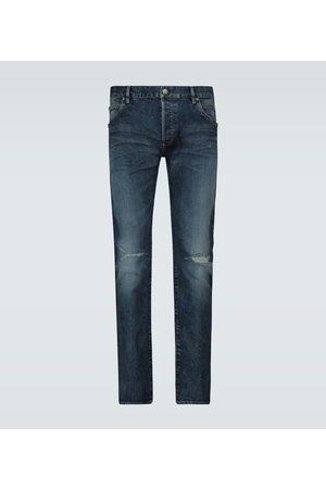 Balmain Slim-fit vintage jeans