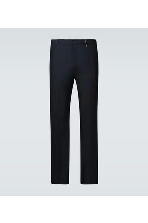 Rochas Wool and cotton-blend pants
