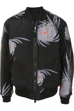 UNDERCOVER Floral-print zip-up bomber jacket