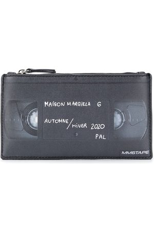 MM6 MAISON MARGIELA Faux leather cassette print purse