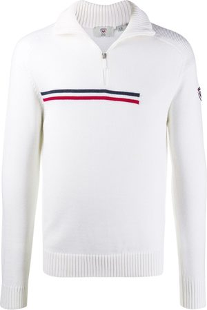 Rossignol Contrasting stripe half-zip jumper