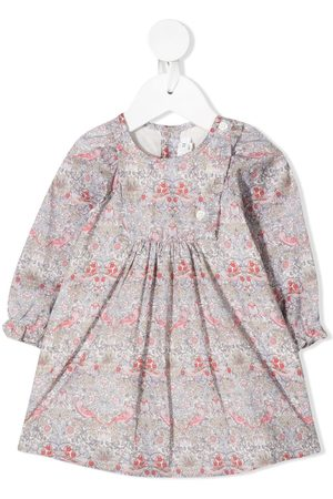 BONPOINT Baby Casual Dresses - Floral long-sleeve dress