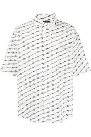 Balenciaga Men Casual - Logo-print oversize shirt