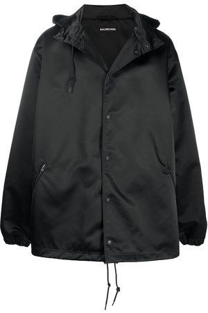 Balenciaga Logo-print raincoat