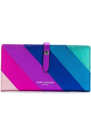 Kurt Geiger Diagonal stripes wallet