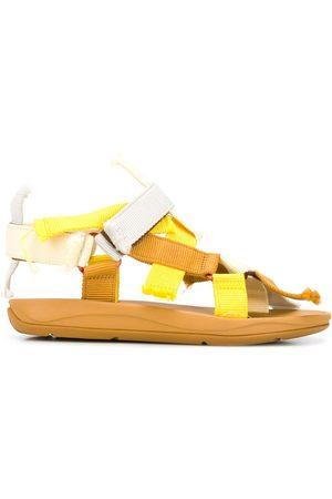 Camper Lab Match frayed strap sandals - Neutrals