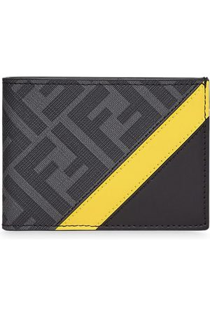 Fendi FF motif leather wallet