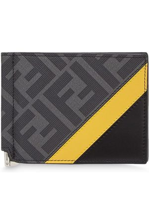 Fendi Monogram slim money-clip wallet