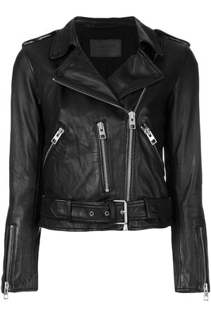 AllSaints Women Leather Jackets - Cropped jacket
