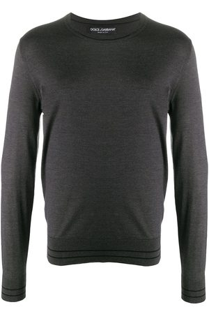 Dolce & Gabbana Lightweight knitted jumper - Grey