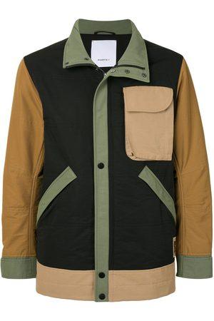 Ports V Colour-block zipped jacket